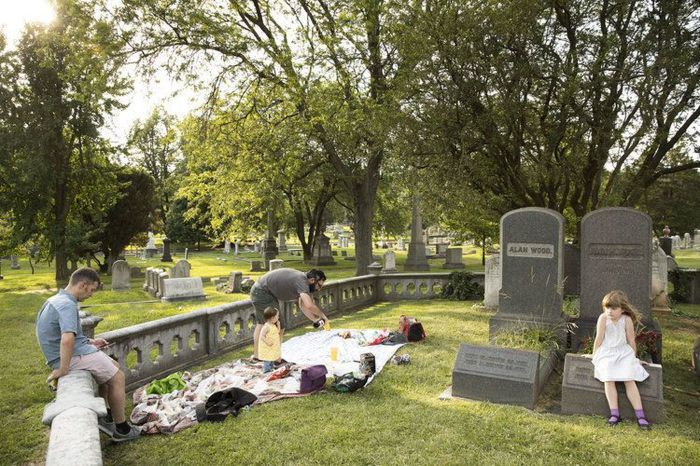 Кладбище Лорел Хилл в Филадельфии, наши дни. / Фото: www.inquirer.com