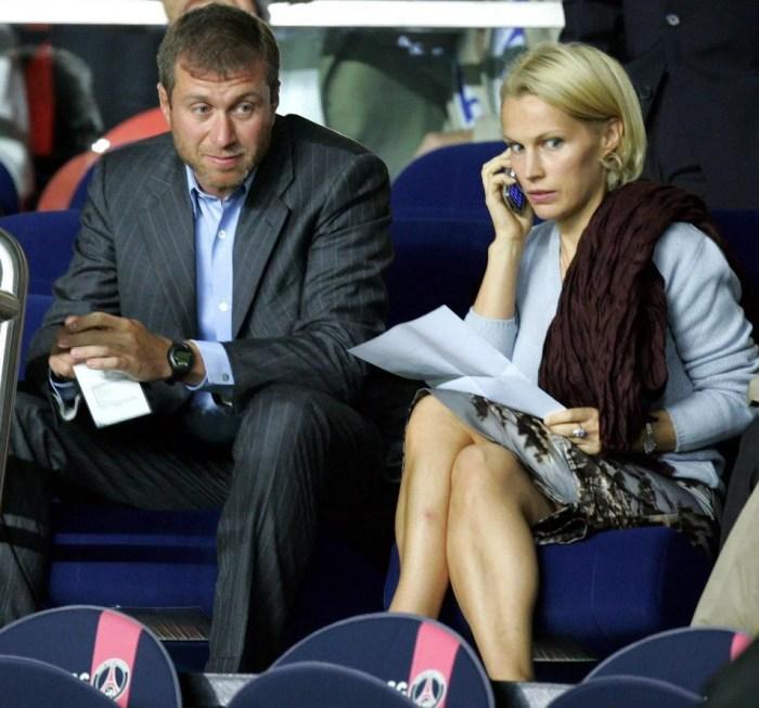 Роман и Ирина Абрамович. / Фото: www.thesun.co.uk