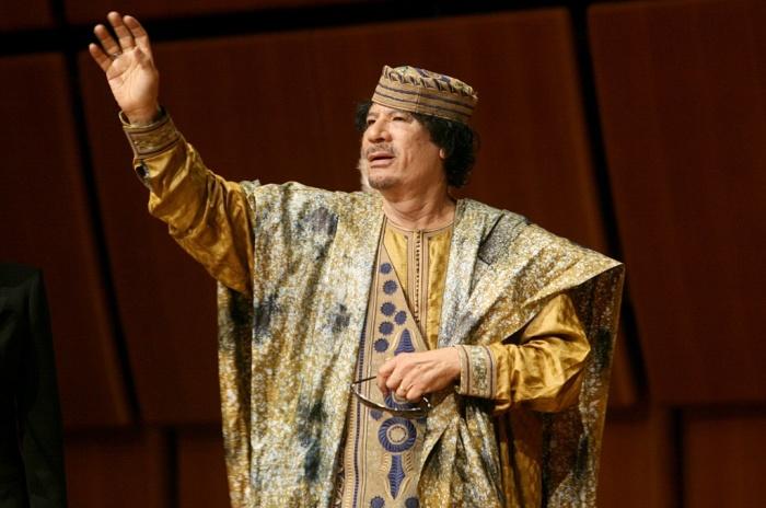Муаммар Каддафи. / Фото: www.playboyrussia.com