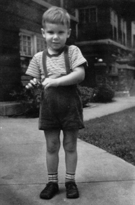 Харрисон Форд в детстве. / Фото: www.clickatlife.gr