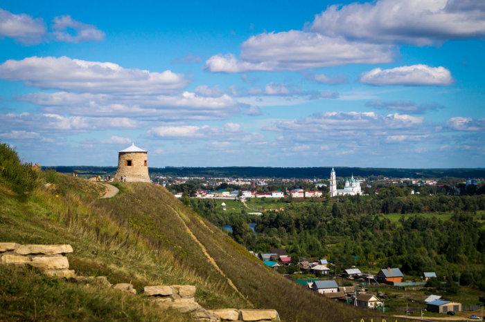 Чёртово городище, Елабуга, Татарстан. / Фото: www.fotokto.ru