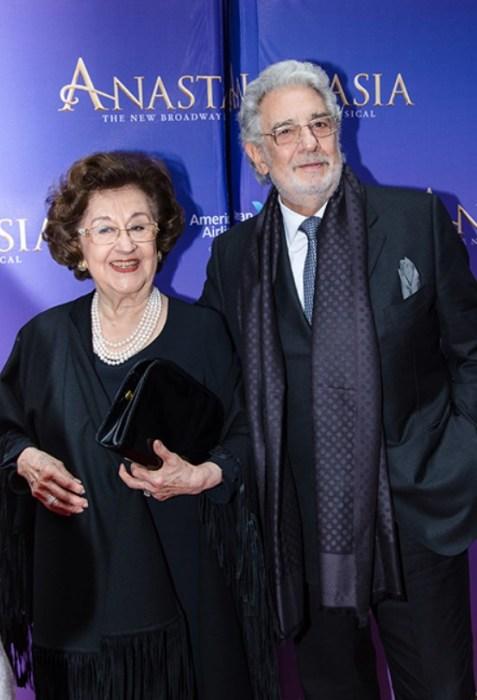 Пласидо Доминго и Марта Орнелас. / Фото: www.mtdata.ru