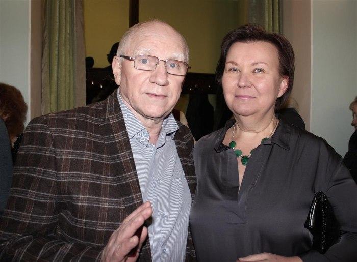 Валерий Баринов с женой Еленой. / Фото: www.userapi.com