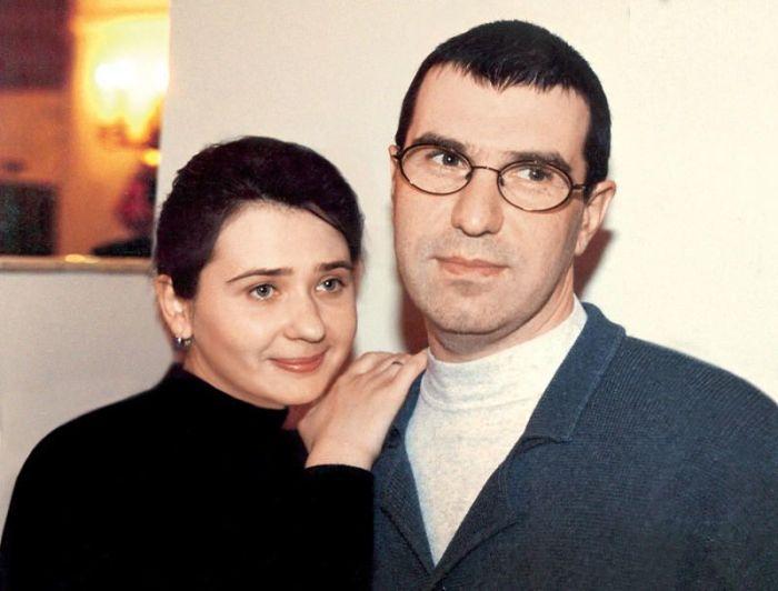 Евгений Гришковец с женой. / Фото: www.7days.ru
