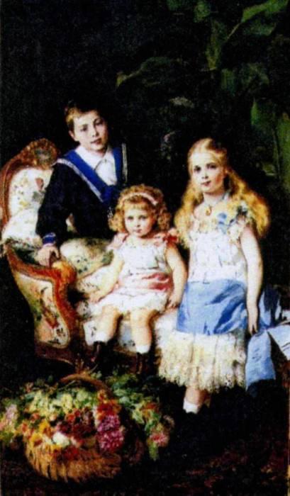 Дети Александра II. / Фото: www.culture.ru