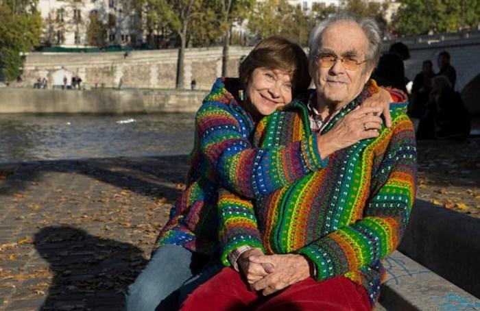Мишель Легран и Маша Мериль. / Фото: www.gettyimages.com