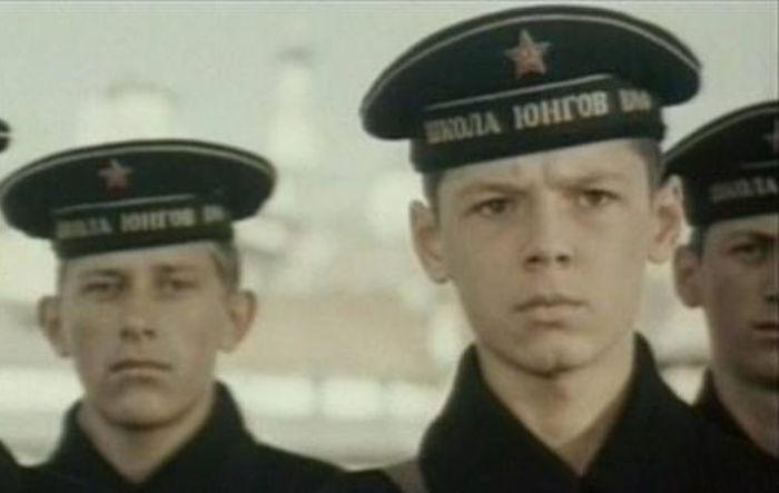 Альгис Арлаускас в фильме «Юнга Северного флота». / Фото: www.kino-teatr.ru