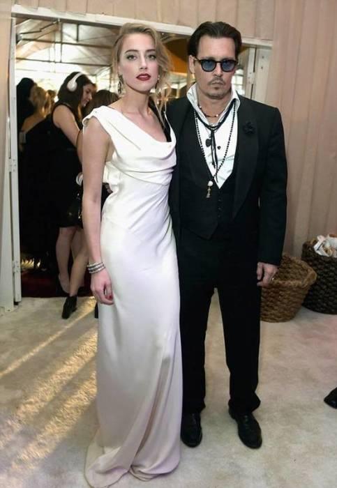 Джонни Депп и Эмбер Херд. / Фото: www.probomond.ru