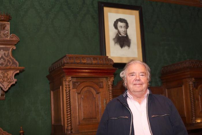 Александр Пушкин, праправнук Александра Пушкина. / Фото: www.культура24.рф