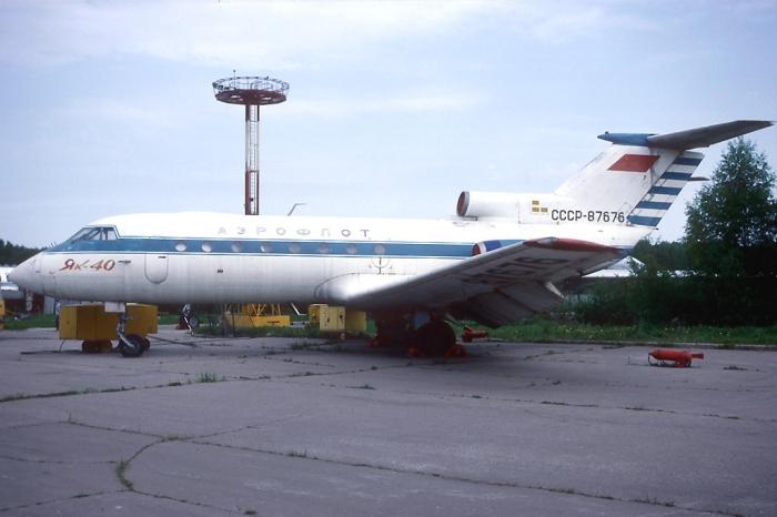 «Як-40», аналогичный угнанному. / Фото: www.wikimedia.org