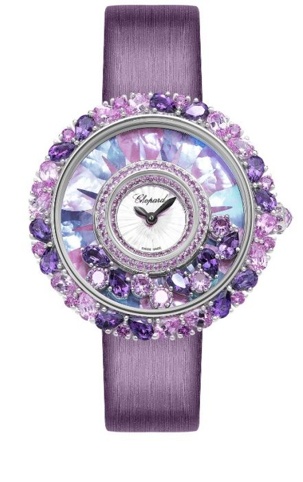 Часы Chopard Happy Diamonds Joaillerie. / Фото: www.tsum.ru