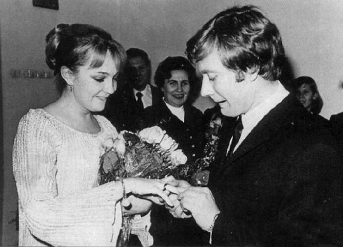 Андрей Миронов и Екатерина Градова. / Фото: www.woman.ru