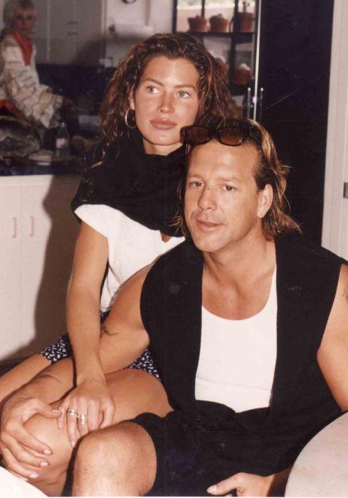 Микки Рурк и Кэрри Отис. / Фото: www.pinimg.com