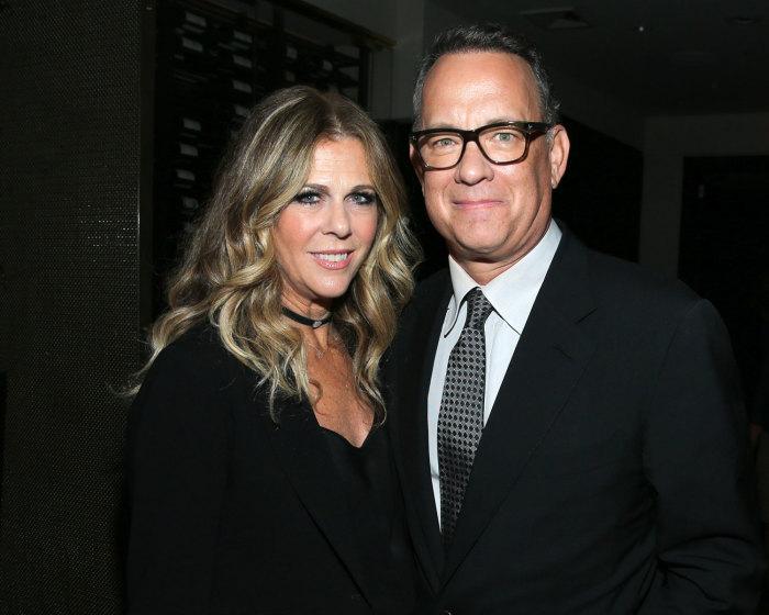 Том Хэнкс и Рита Уилсон. / Фото: www.theknotnews.com