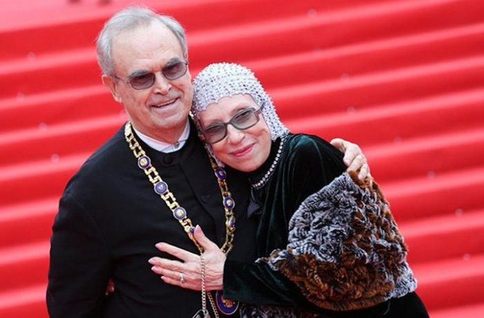 Инна Чурикова и Глеб Панфилов. / Фото: www.clients-cdnnow.ru