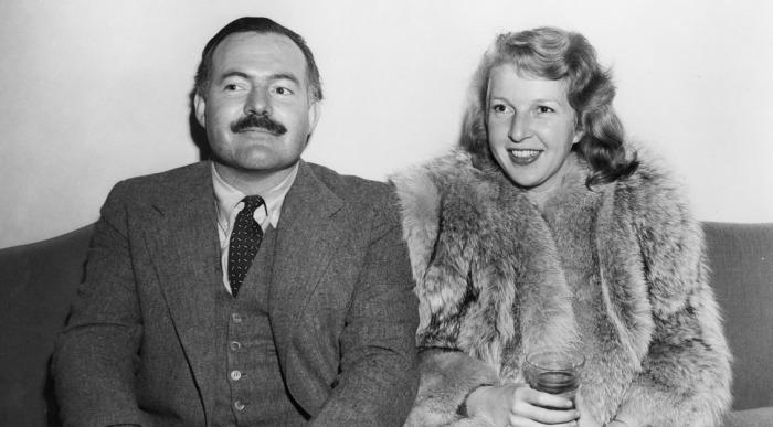Марта Геллхорн и Эрнест Хемингуэй. / Фото: www.edrants.com