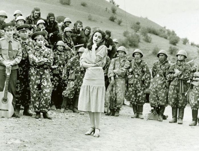 Тамара Гвердцители в Афганистане. / Фото: www.www.liveinternet.ru