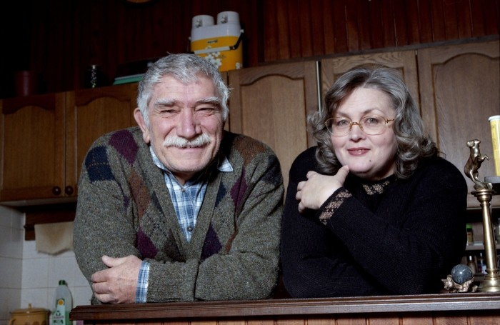 Армен Джигарханян и Татьяна Власова. / Фото: www.woman.ru