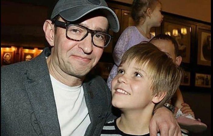Константин Хабенский с сыном. / Фото: www.ladymega.ru