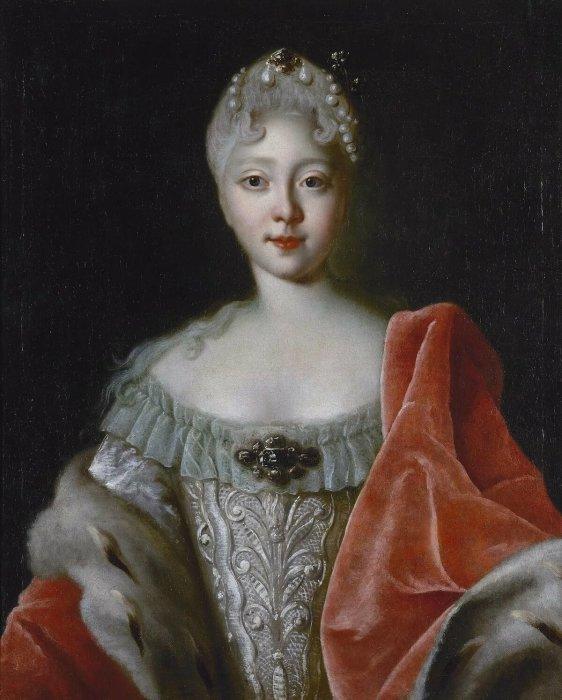 Елизавета Петровна в юности. / Фото: www.pinimg.com