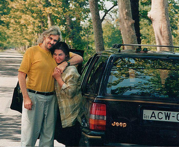 Сергей Саркисов и Русудан Махашвили. / Фото: www.tatler.ru