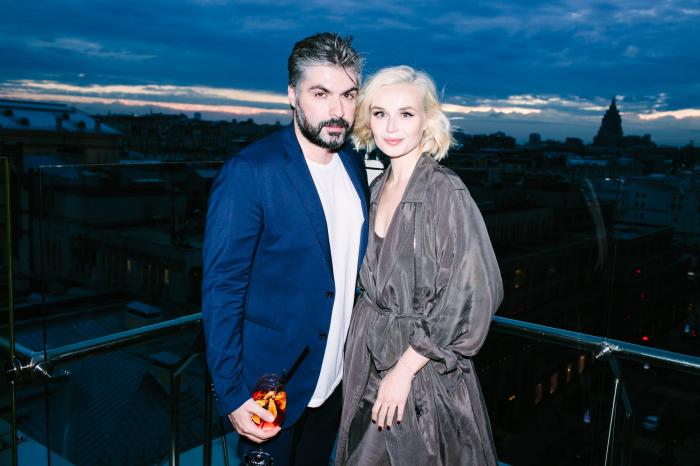 Полина Гагарина и Дмитрий Исхаков. / Фото: www.instyle.ru