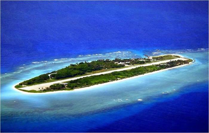Остров Тайпин. Острова Спратли. / Фото: www.wikimedia.org