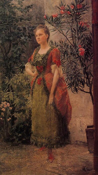 Портрет Эмилии Флёге. 1893. / Фото: www.izbrannoe.com