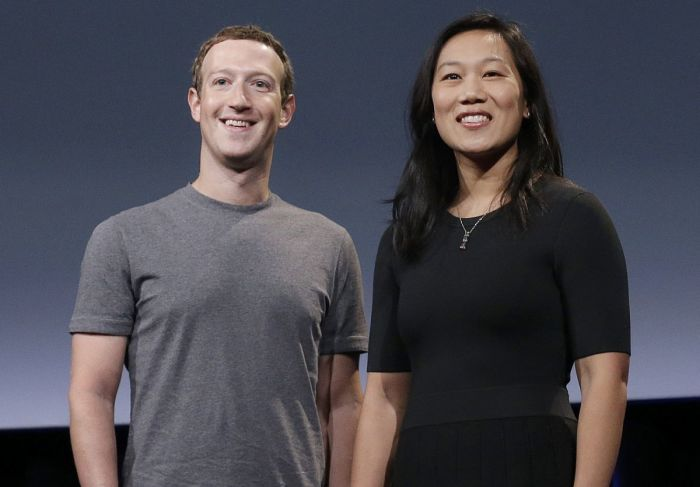 Марк Цукерберг и Присцилла Чан. / Фото: www.hsto.org