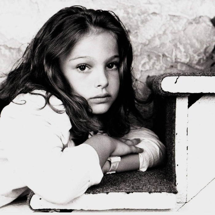 Натали Портман в детстве. / Фото: www.woman.ru