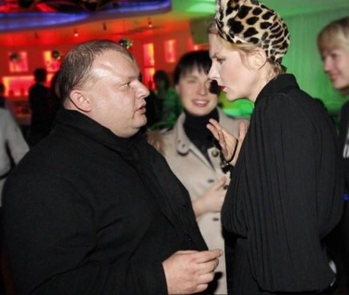 Рената Литвинова и Леонид Добровский. / Фото: www.globalmsk.ru