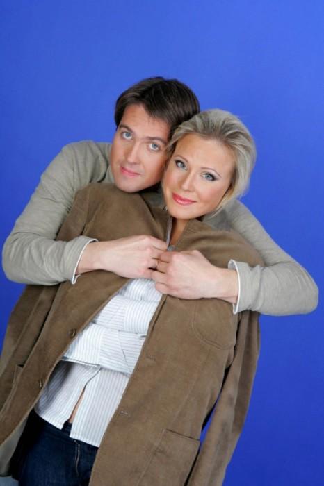 Мария Куликова и Денис Матросов. / Фото: www.woman.ru