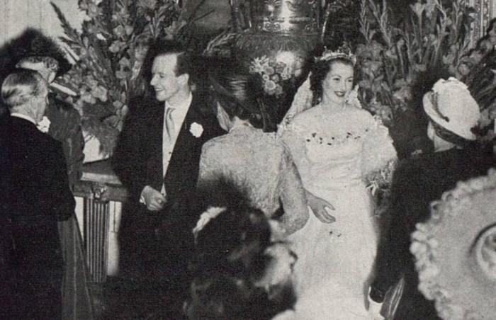 Свадьба Рейн МакКордейл и Джеральда Хамфри Легга. / Фото: www.pinimg.com