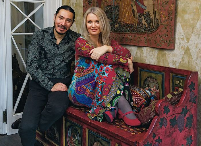 Анастасия Немоляева и Вениамин Скальник. / Фото: www.houses.ru