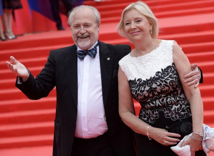 Владимир Хотиненко и Татьяна Яковлева. / Фото: www.pinimg.com