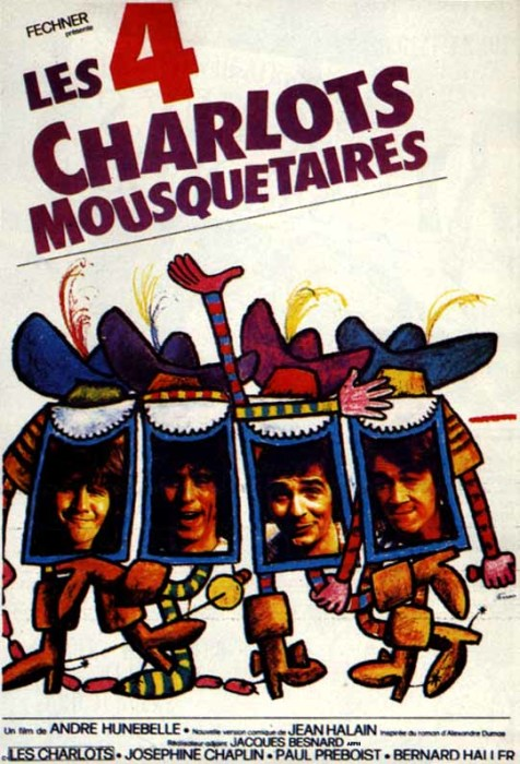«Четыре мушкетёра Шарло», 1974 год. / Фото: www.veleto.ru