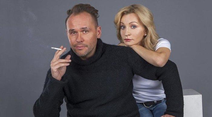 Анна Якунина и Максим Аверин. / Фото: www.domashnyochag.ru