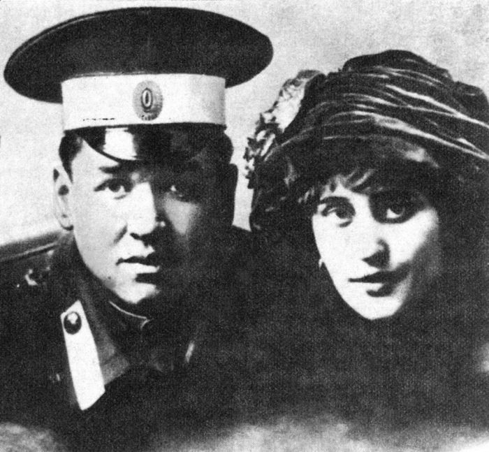 Вера Холодная с мужем Владимиром. / Фото: www.mtdata.ru