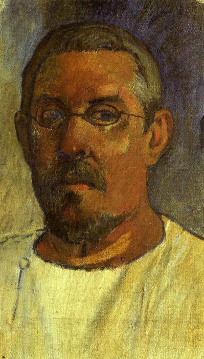 Поль Гоген, «Автопортрет в очках» / Фото: www.поль-гоген.рф
