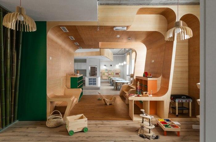 Сенсорная зона детского клуба «Я в Домике». / Фото: www.24warez.ru