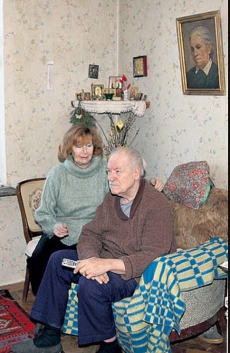 Нина Веселовская и Геннадий Бобровников. / Фото: www.liveinternet.ru