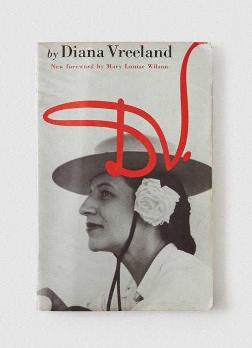 «D. V.», Диана Вриланд. / Фото: www.pinimg.com