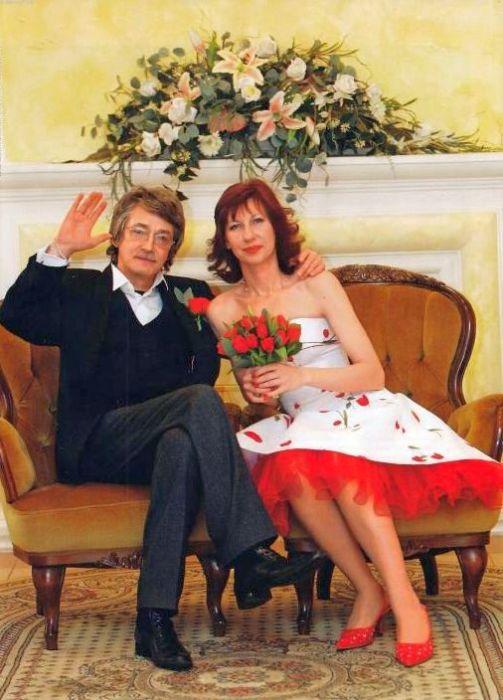 Игорь Старыгин и Екатерина Табашникова в день свадьбы. / Фото: www.obaldela.ru