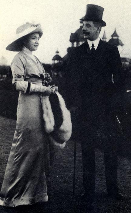 Мария и Иван Бенкендорф, 1913 год. / Фото: www.cemicvet.mediasole.ru