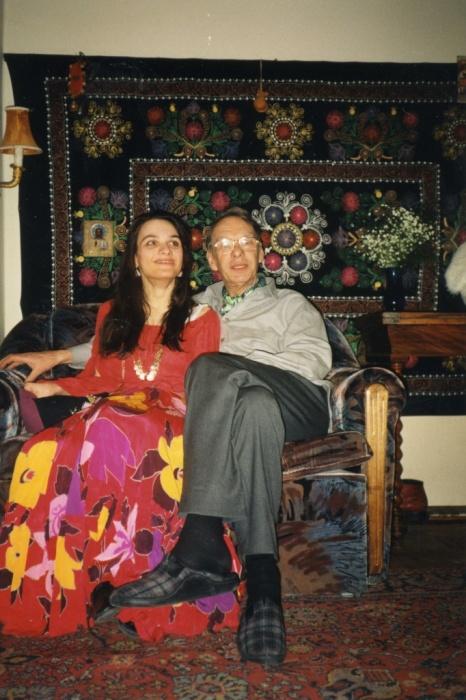 Алексей Баталов с Марией. / Фото: www.irma-stream.ru