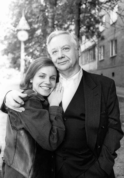 Марина Зудина и Олег Табаков. / Фото: www.tntmusic.ru
