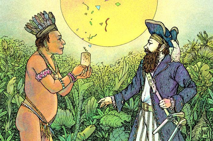 Уильям Хьюз, как и многие европейцы в Америке, попросту воровал знания местных жителей.  / Фото: www.neatorama.com