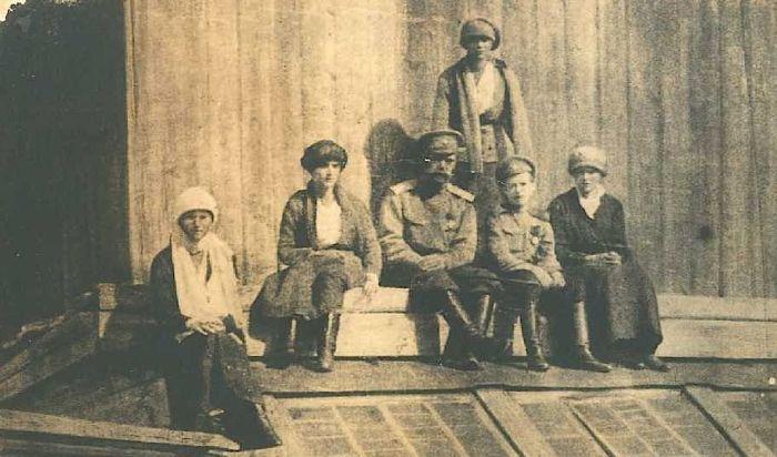 Августейшая семья в Тобольске. / Фото: www.russianstoday.ru
