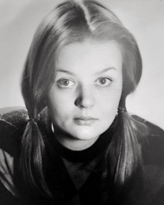 Юлия Меньшова в юности. / Фото: www.boom.ms