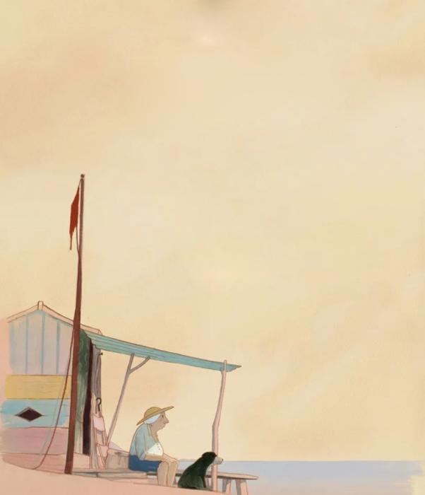 Кадр из мультфильма «Луиза зимой». / Фото: www.kinopoisk.ru